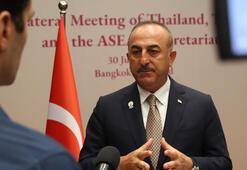 Bakan Çavuşoğlundan Uygur Türkleri açıklaması
