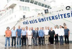Piri Reis, uluslararası projeler yürütüyor