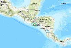 Son dakika... El Salvadorda deprem