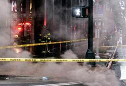New Yorkun göbeğinde patlama