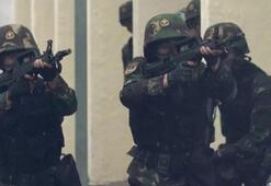 Çin ordusundan videolu gözdağı
