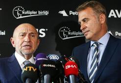 TFF Başkanı Özdemir: Liglerin ertelenmesi söz konusu değil
