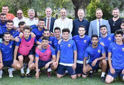 Başkan Aktaştan transfer tahtası açıklaması Bursaspor...