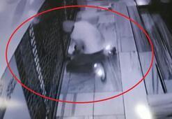 Marketi soymaya çalışan hırsız, komşuları uyandırınca kaçtı