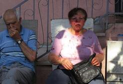 Baba ve üvey anneye sopalı saldırı