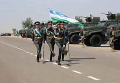 Ejder Yalçın zırhlıları Özbekistan ordusunda