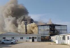 Son dakika | Silivride işçilerin kaldığı konteynerlerde yangın