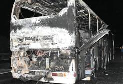 Kabus sürüyor Bir otobüs daha yandı
