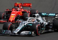 Formula 1de Hamilton rüzgarı 8. zafer...