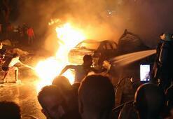 Son dakika   Mısırda korkunç olay 4 araç yandı, 17 ölü, 32 yaralı