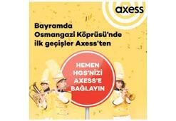 Bayramda Axessten köprülü kampanya