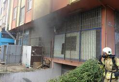 Pendik'te atölyede korkutan yangın: 1 yaralı