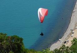 Uçmakdere adrenalin sevenlerin gözdesi