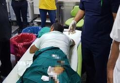 Sağlık raporu alamayan hasta, doktoru bıçakladı