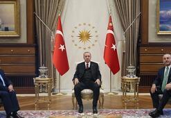 Cumhurbaşkanı Erdoğan, Özbekistan Dışişleri Bakanı Kamilovu kabul etti