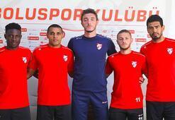 Bolusporda 5 futbolcuya imza töreni