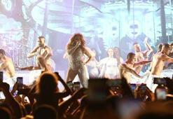 Antalyada Jennifer Lopez rüzgarı
