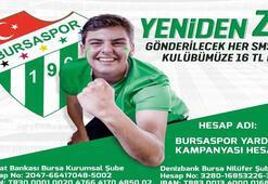 Bursaspordan SMS kampanyası