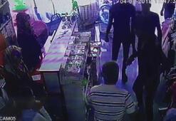 Müşteri gibi girip, iş yeri sahibi ile çalışanının telefonlarını çaldılar
