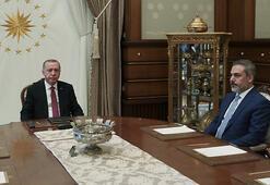 Erdoğan, Fidanı kabul etti