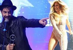 Enis Arıkan ve Jennifer Lopez aynı karede