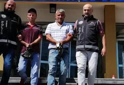 12 düzensiz göçmen takside yakalandı