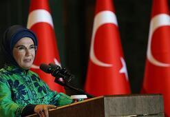 Emine Erdoğan, kadın büyükelçi ve büyükelçi eşleriyle buluştu