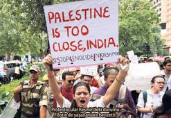 Hindistan'da da Keşmir tepkisi