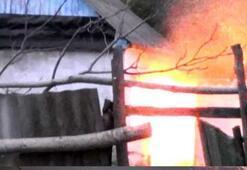 Rusyada evi basılan terörist, polise el bombası atıp ateş açtı