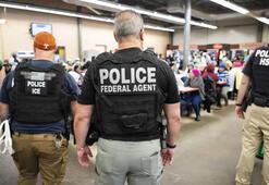 ABDde yüzlerce göçmen gözaltına alındı