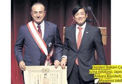 Çavuşoğlu'na Japonya'nın en yüksek nişanı