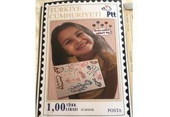 Öykü Arin için posta pulu