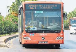 İki kentte toplu ulaşım ücretsiz