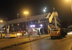 Taksiciye saldırı iddiası