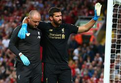Liverpoolda Alisson Becker 2 ay yok
