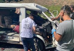 Son dakika... İstanbulda minibüs takla attı Yaralılar var