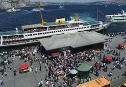 İstanbullular Adalar İskelesine akın etti
