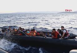 İzmirde kaçak göçmen operasyonu
