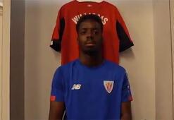Inaki Williams 9 yıl Athletic Bilbaoda