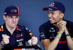 Max Verstappenin yeni takım arkadaşı Alexander Albon oldu