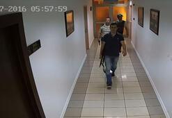 Darbecilerin silahlı delil karartma çabası güvenlik kamerasında