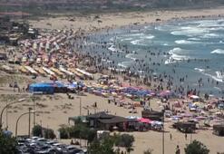 Bayramda Şile plajlarına yoğun ilgi