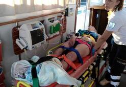 Bodrumda feci kaza Ünlü oyuncunun oğlu gözaltına alındı