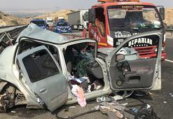 Gaziantepte trafik kazası: 2 ölü, 4 yaralı