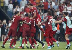 Liverpool, UEFA Süper Kupasını aldı