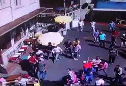 Faytoncularla akülü araç sahipleri arasında kavga kamerada