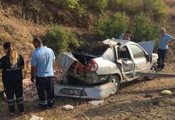 Korkunç kaza 2 kişi öldü...