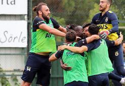 Fenerbahçede pas çalışması