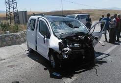 Korkunç kaza Ölü ve yaralılar var