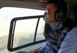 Bakan Pakdemirliden Karabağlardaki yangına ilişkin açıklama